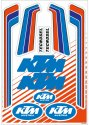 TECNOSEL VINTAGE DECAL UNIVERSAL KTM STICKER SHEET KIT T55V00