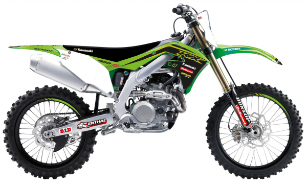 Blackbird Racing BLACKBIRD GRAPHICS TEAM REPLICA 20 KXF 250 21 450 19-21