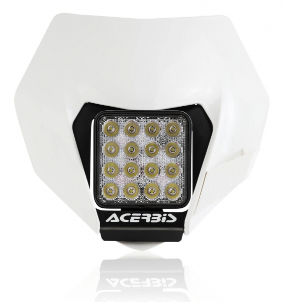 Acerbis ACERBIS HEADLIGHT VSL UNIVERSAL FIT WHITE