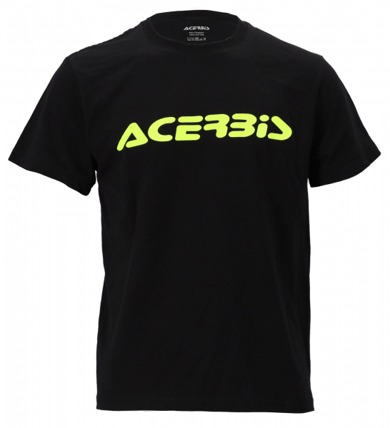 ACERBIS T-SHIRT T-LOGO BLACK SMALL Small 24595.090.062