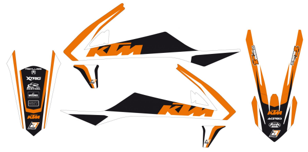 Blackbird Racing BLACKBIRD GRAPHICS KIT DREAM 4 KTM SX 85 18-21