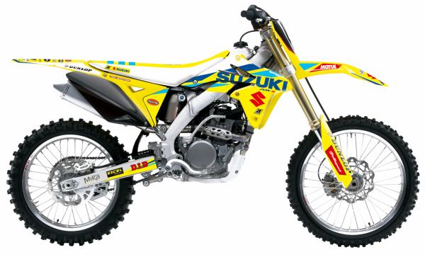 Blackbird Racing BLACKBIRD DECALS REPLICA FACTORY 20 SUZUKI RMZ 450 08-17