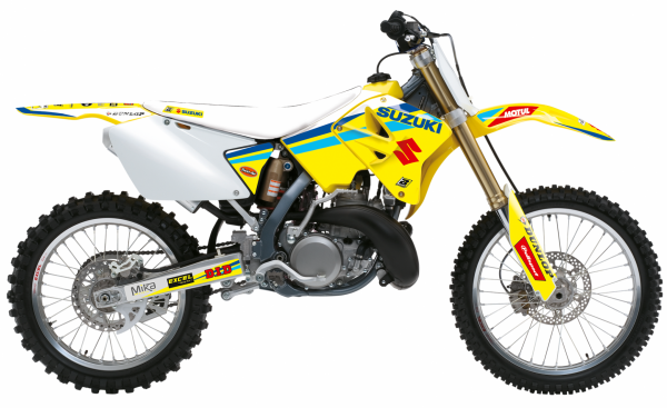 Blackbird Racing BLACKBIRD DECALS REPLICA FACTORY 20 SUZUKI RM 125 250 01-08