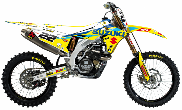Blackbird Racing BLACKBIRD DECALS REPLICA FACTORY 20 RMZ 250 19-21 450 18-21
