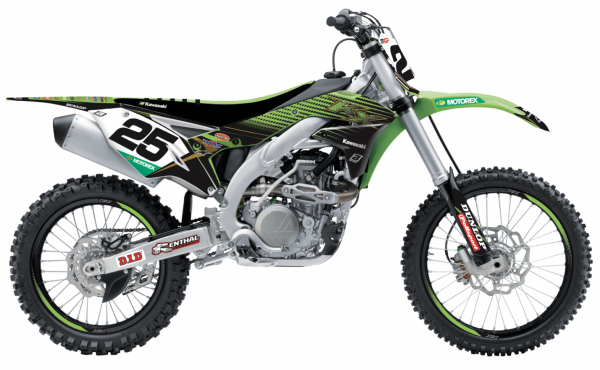 Blackbird Racing BLACKBIRD GRAPHICS KIT TEAM REPLICA 20 KXF 450 16-18