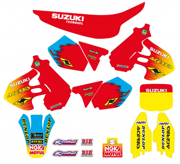 Blackbird Racing TECNOSEL DECALS REPLICA SUZUKI 99 RM 125 250 96-00
